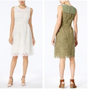 NWOT Maison Jules Lace White Dress